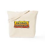 Retired Dinosaur Tote Bag