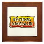 Retired Dinosaur Framed Tile