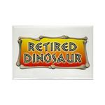 Retired Dinosaur Rectangle Magnet