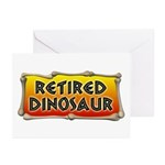 Retired Dinosaur Greeting Cards (Pk of 10)