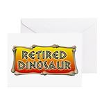 Retired Dinosaur Greeting Cards (Pk of 20)