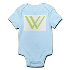 W (green) Infant Creeper