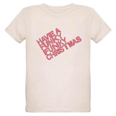 Have a Funky Funky Christmas Organic Kids T-Shirt