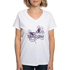 Purple Mardi Gras Mask Shirt