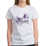 Purple Mardi Gras Mask Tee