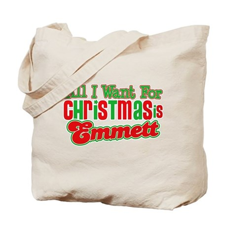 Christmas Emmett Tote Bag