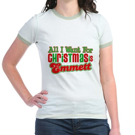 Christmas Emmett Jr. Ringer T-Shirt