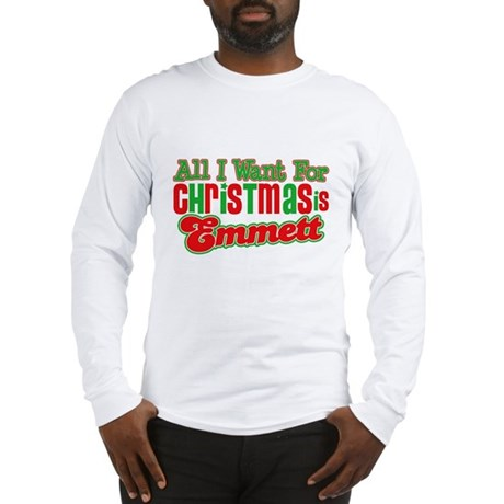 Christmas Emmett Long Sleeve T-Shirt