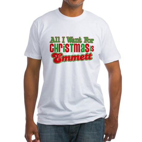 Christmas Emmett Fitted T-Shirt