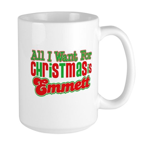Christmas Emmett Large Mug