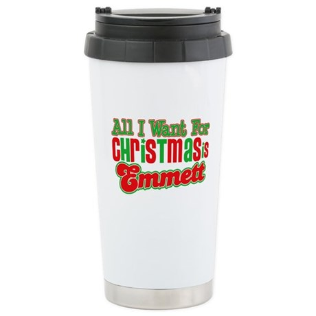 Christmas Emmett Ceramic Travel Mug