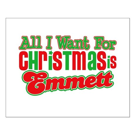 Christmas Emmett Small Poster