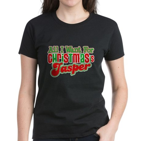 Christmas Jasper Women's Dark T-Shirt