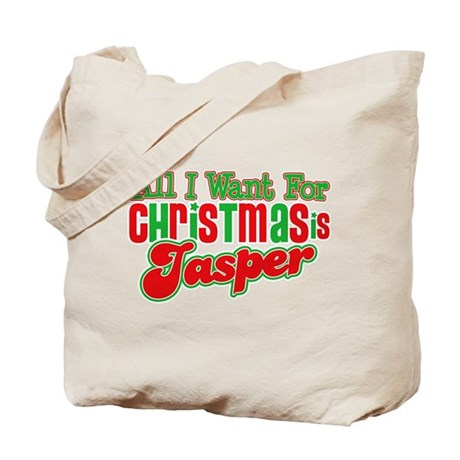 Christmas Jasper Tote Bag