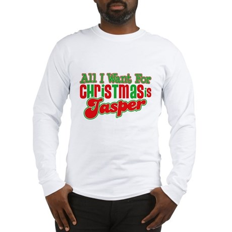 Christmas Jasper Long Sleeve T-Shirt
