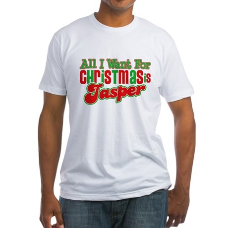 Christmas Jasper Fitted T-Shirt
