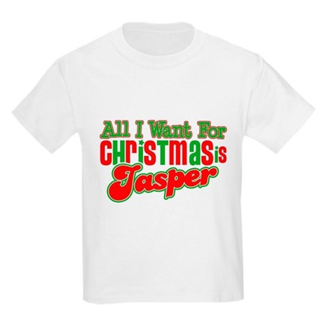 Christmas Jasper Kids Light T-Shirt