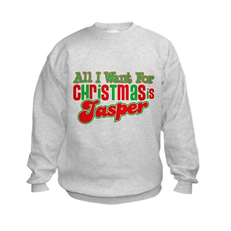 Christmas Jasper Kids Sweatshirt