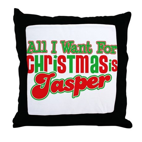 Christmas Jasper Throw Pillow