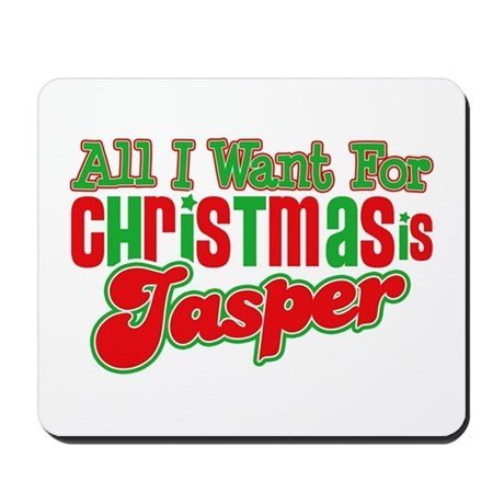 Christmas Jasper Mousepad