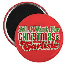 Carlisle Christmas Magnet