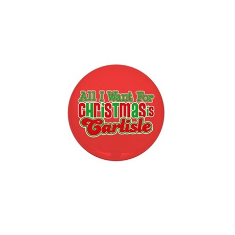 Carlisle Christmas Mini Button (10 pack)