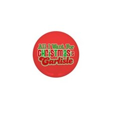 Carlisle Christmas Mini Button (100 pack)