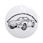 Anniversary Ornament (Round)