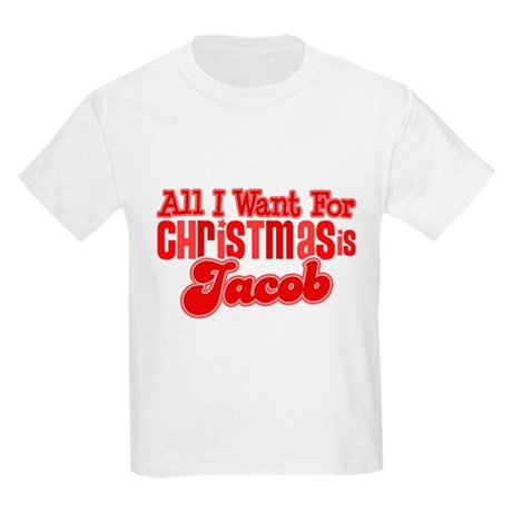 Christmas Jacob Kids Light T-Shirt
