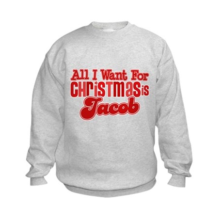 Christmas Jacob Kids Sweatshirt