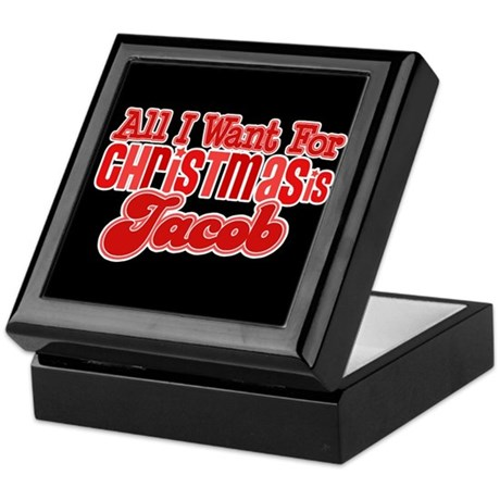 Christmas Jacob Keepsake Box