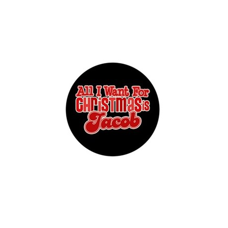 Christmas Jacob Mini Button (10 pack)