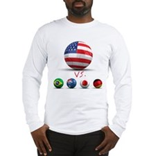 USA vs The World Long Sleeve T-Shirt