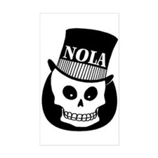 NOLa Sign Rectangle Decal