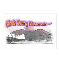 Climb every Postcards (Package of 8)