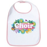 Retro Burst Choir Bib