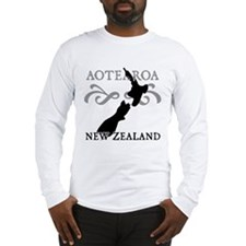 Aotearoa New Zealand Long Sleeve T-Shirt