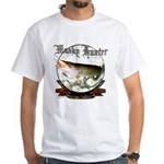 Tiger Muskie,SaltyPro Series,White T-Shirt