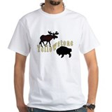Bison Moose Yellowstone Shirt