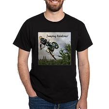 """""""Jumping Rainbows"""" T-Shirt"""