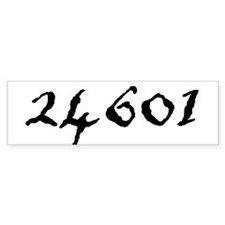 24601 Bumper Sticker (50 pk)