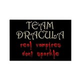 Team Dracula Rectangle Magnet