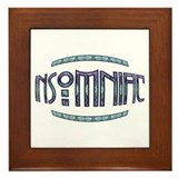 Insomniac Fish Eyed Framed Tile