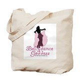 Belly Dance Goddess Tote Bag