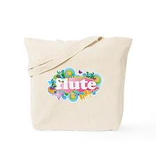 Flute Retro Tote Bag