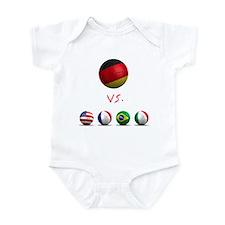 Germany vs The World Infant Bodysuit