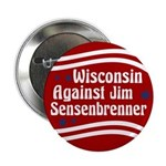 Wisconsin Against Jim Sensenbrenner button