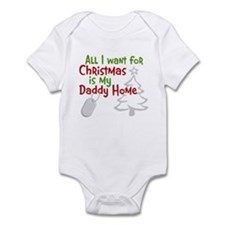 My Santa Wish Came True Infant Bodysuit