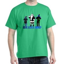 Blue Santa Group T-Shirt