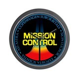 Mission control wall clock